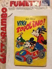 """Classici N.50 Prima Serie Anno 73 """"Viva Topolino""""Bollini- Mondadori Discreto"""