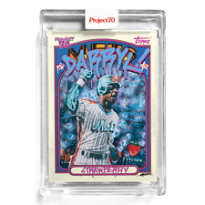 Topps Project 70 Card 13 - 1972 Darryl Strawberry by Gregory Siff