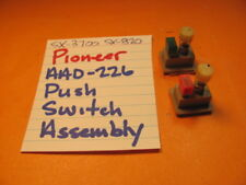 PIONEER AAD-226 PUSH SWITCH ASSEMBLY SX-3700 SX-3800 SX-3900 STEREO RECEIVER