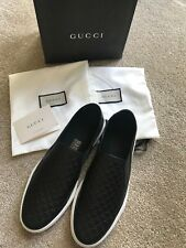 Gucci Guccissima Slip on Leather Casual / Sneaker / Skate Shoes Size UK 7.5 NEW