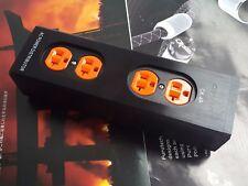 1x CK AC Power Distributor Supply Box Aluminum 4 Outlet Socket IT026