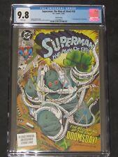 SUPERMAN THE MAN OF STEEL #18 3rd Print 9.8 CGC Graded 1st Doomsday