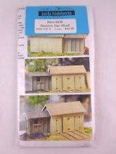 Railway S Scale Banta Modelworks Model Kit Scenery Rico/RGS Section Car Shed