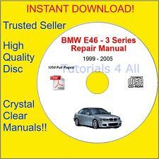 BMW E46 Service Repair Body Manual OFFICIAL! PDF DOWNLOAD