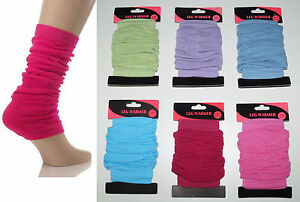 STULPEN BEINSTULPEN LEG WARMERS pastell, pink, schwarz....  viele Farben NEU