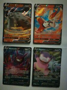 Carte Pokemon V Ultra Rare Fr Lot De 4
