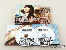 Mizuki Nana Supernal Liberty CD+BD Limited Ed Music Album Japan Import US Seller