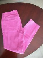 New Talbots Pink Flawless Five Pocket Slim Ankle Womens Jeans Size 2P Petite $99