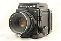 【EXC+4】 MAMIYA RB67 Pro S + SEKOR C 127mm f/3.8 + 120 Filmback from JAPAN