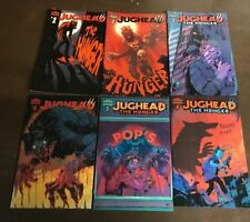 JUGHEAD THE HUNGER 1 2 3 4 5 6 A SET Archie Comics Jughead Riverdale Sabrina HOT