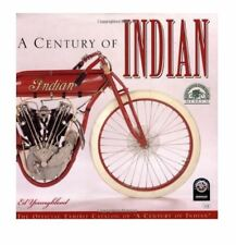CENTURY INDIAN MOTORCYCLE YOUNGBLOOD NEW HC DJ BOOK MANUAL RESTORE CHIEF SCOUT