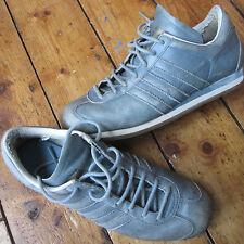 Adidas Originales país o FG pálido/azul de cielo Entrenadores De Cuero UK 6.5 Unisex