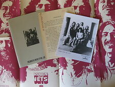 Ruben And The Jets For Real! 1973 Promo Press Kit + Poster Frank Zappa Amazing!