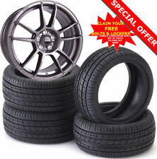 Golf Dare One Piece Rim Wheels with Tyres
