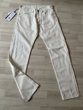 CP Company Jeans CP Chinos white Trousers Regular Straight W30 L32 NEW