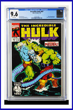 Incredible Hulk #407 CGC Graded 9.6 Marvel July 1993 White Pages Comic Book