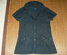 Damen-Strickjacken mit mittlerer Strickart aus Acryl-Mischung ohne Muster