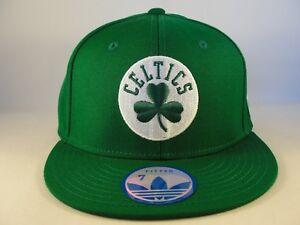 Boston Celtics NBA Adidas Fitted Hat Cap Size 7 Green