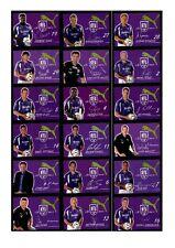 AUTOGRAFO insieme di Carte VfL Osnabrück 2007-08 26 carte top (258)