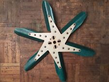 Vintage Baldwin Motion Performance Green Fiberglass Flex Fan