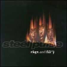Rage & Fury - Steel Pulse (1997, CD NEUF)