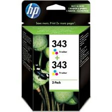 HP No Original 343 Tricolor Cartuchos De Tinta CB332EE BN Pack Combo (Of 2) CMY
