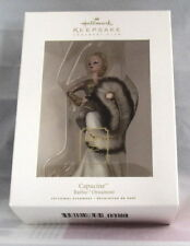 Hallmark Capucine Barbie 2009 Ornament Fashion Model Collection