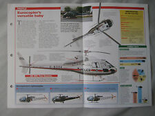 Aircraft of the World Card 3 , Group 3 - Eurocopter AS 355/555 Twin Star