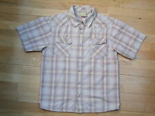 Animal Shirt boys medium light brown check