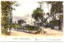 L'Hotel d'Angleterre, Cambo France 1906
