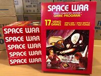 SPACE WAR  -- for ATARI 2600 Video Game System CASE FRESH -   BRAND NEW - NOS  !