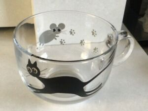 Mistigri Jumbo Cup by Luminarc Cat and Mouse 50cl