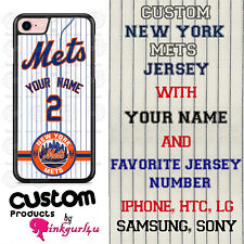 CUSTOMIZED NEW YORK METS BASEBALL PHONE CASE COVER FITS iPHONE SAMSUNG LG GOOGLE