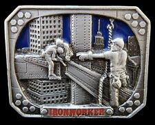 Ironworker Iron Metal Steel Worker Occupations Belt Buckle Boucle Ceintures