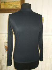 Tee shirt sous-pull polyamide noir stretch MARITHE & FRANCOIS GIRBAUD 40f 6us