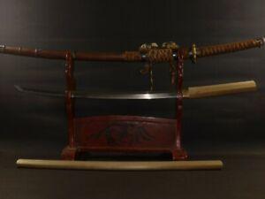 """KATANA (sword) w/Tachi Koshirae : NOSYU SEKI NOBUMITSU : SHOWA : 37.4 × 25.4 """""""