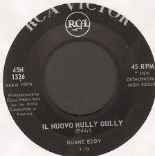 EDDY DUANE - Il Neuf Hully Gully / Limbes Rock - RCA Victor - 45N 1326 Ita 1962