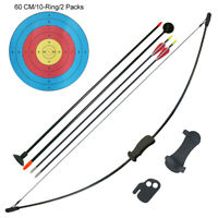 16LBS Youth Game Bow and Arrow Set Children Junior Archery Training Toy Teams
