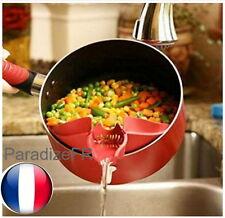 Clip Bec Verseur Égoutteur Filtrer Pour Casserole Poêle Ustensile Cuisine Modern