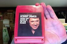 Sonny James- When the Snow Is On the Roses- used 8 Track tape- nice