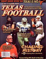 2002 Dave Campbell's Texas Football Magazine Kingsbury Red Raiders