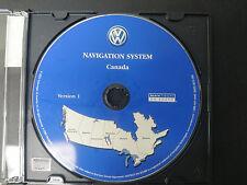 VW VOLKSWAGEN NAVIGATION GPS CD DVD DISK CANADA S0022-0010-306 #CD152