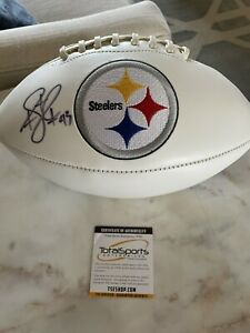 Troy Polamalu Pittsburgh Steelers Auto Football TSE
