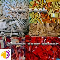Lego 500g 1/2kg Mixed Bricks Parts & Pieces - Bundle Job Lot choose your colour