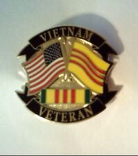 "Vietnam Veteran Hat Pin 1 1/4"""