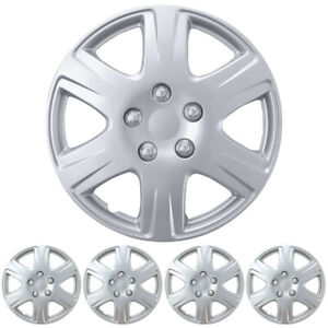 For Ford Focus 2006-2011 Hubcap Premium Replacement 15-inch Wheel Cover - Chrome