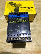 Turck AMPLIFICATORE di commutazione/ms1-12exo-r/24v AC Safety Relay 94551