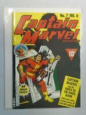 Flashback 35: Captain Marvel Adventures #7 7.0 FN VF (1976 Reprint)