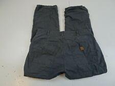 Coleman Men Red Charcoal Black Flannel Lined Canvas Pants W36 x L30 Arctic