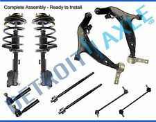 Front Struts Lower Control Arm Tie Rod Sway Bar Kit for 2004 - 2009 Nissan Quest